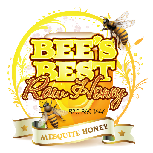 Bee's Best Honey label design
