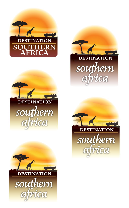 Destination Southern Africa Logo Design