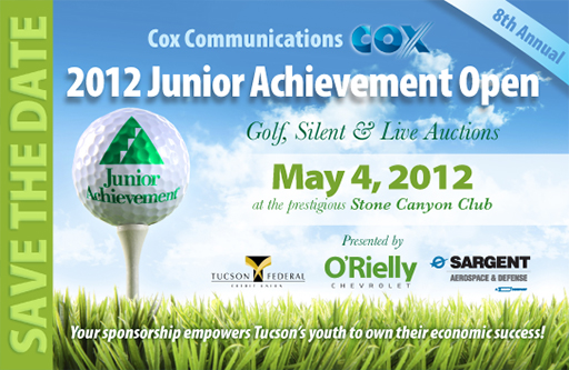 Postcard design for Junior Achievement of Arizona-1