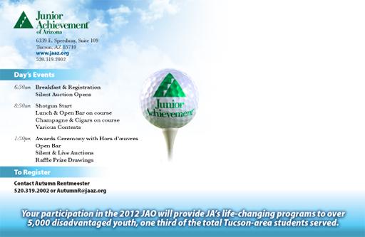 Postcard design for Junior Achievement of Arizona-2