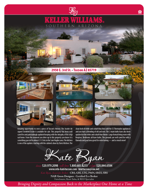 Kate Ryan home flyer