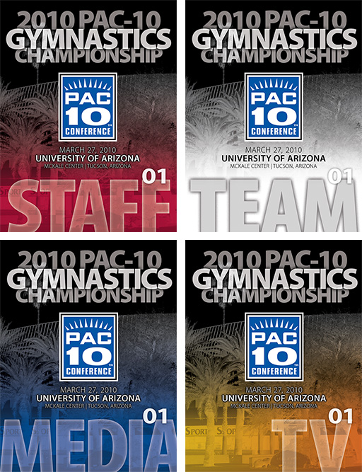 PAC-10 Gymnastic Credentials